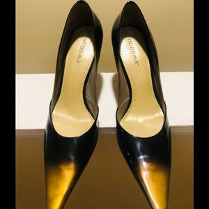 BCBG Multi-Color Black Pumps Size 10